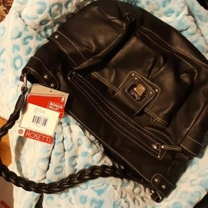 New with tags attatched rosetti leather bag